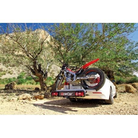 Motorradträger auf AHK