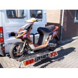Motorradträger auf AHK 90 kg, Kleinkraftrad, Roller, Trial