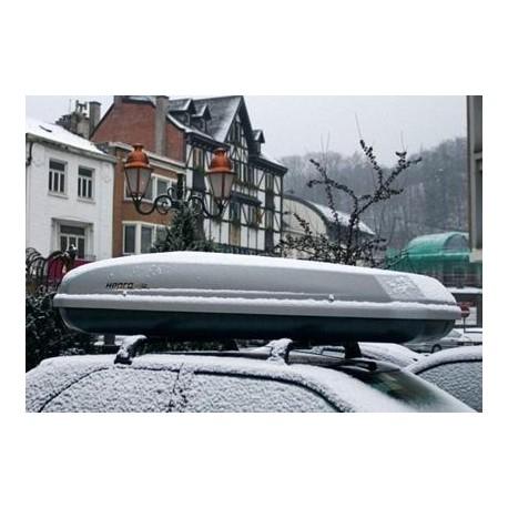 Hapro Dachbox Roady 350 Silber Grau